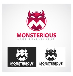 Monsterious Symbol vector image