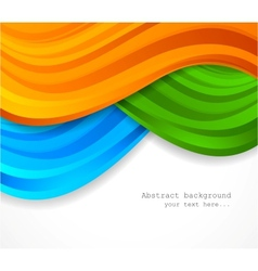 Abstract colorful backgorund vector image