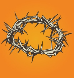 Crown of Thorns vector image vector image