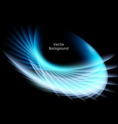 colorful wavy backdrop vector image