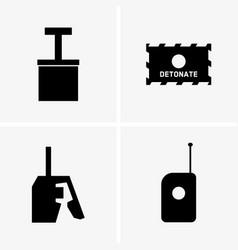 Detonators vector