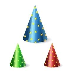festive cap vector image