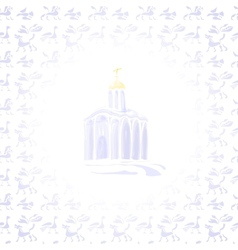 Light Temple vector