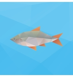 Poly fish vector