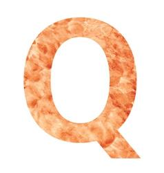 q land letter vector image
