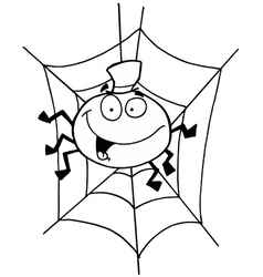 Spider cartoon vector