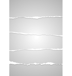 Abstract ragged edge paper vector image