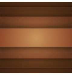 Brown paper layers abstract background vector