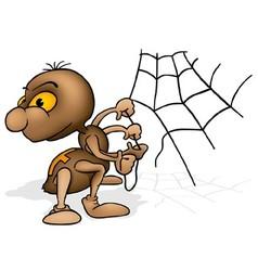Brown Spider vector