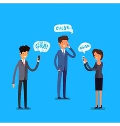 Business concept Cartoon people vector