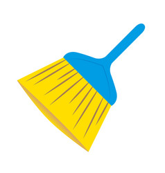 Cleaning brush logo vector