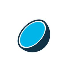 coco icon colored symbol premium quality isolated vector image