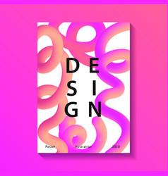 Creative design poster vector