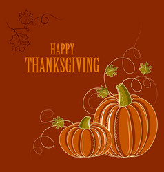 Happy thanksgiving holiday celebration festival vector