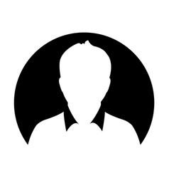 profile icon male user person avatar symbol vector image