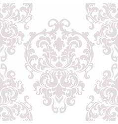 Vintage damask floral ornament pattern vector