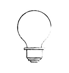 line energy light bulb icon vector image vector image
