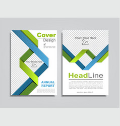 brochure design layout with place for data vector image vector image