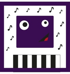 Monster Musician vector image