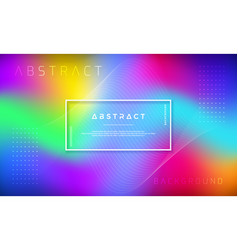 abstract dynamic colorful background design vector image