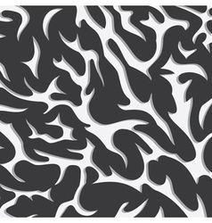 Abstract wild pattern background vector
