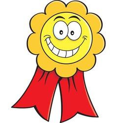 Cartoon medal vector