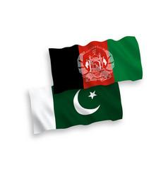 Flags islamic republic afghanistan vector