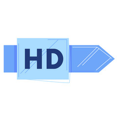 Hd news television modern television background vector