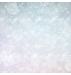 New year snowing bokeh background vector