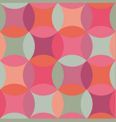 Simple geometric circles seamless pattern vector