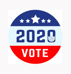 Us presidential election in context vector