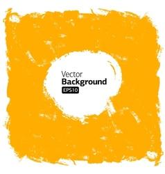 Grunge orange background vector image vector image