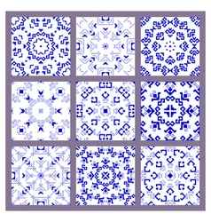 set pattern vector image