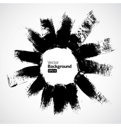 Abstract ink grunge background vector