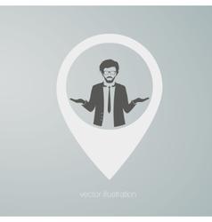 businessman icon vector image vector image