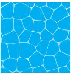 Pool or tropical sea water texture vector image vector image