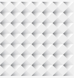white seamless geometric pattern background vector image vector image