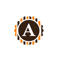 Best quality letter a vector