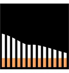 Cigarette graph vector