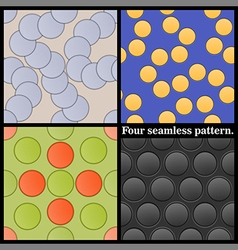 eamless pattern vector image