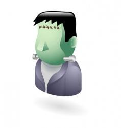 Frankenstein icon vector image