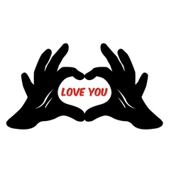 Love You Design vector