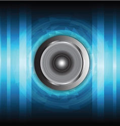 Speaker and sound wave vector