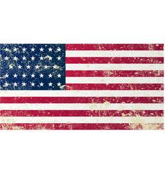 Union civil war flag vector