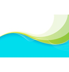 Waves and Lines Background vector image