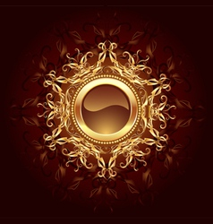 Round Jewelry banner vector image vector image