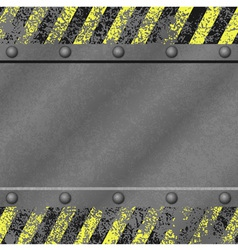 Grunge Metal Background vector image vector image