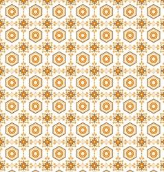 seamless pattern retro vector image vector image