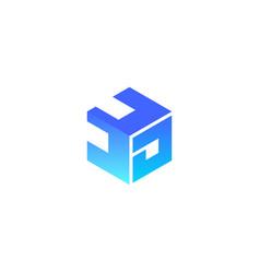 3d printing logo vector image