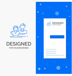 business logo for student employee group couple vector image